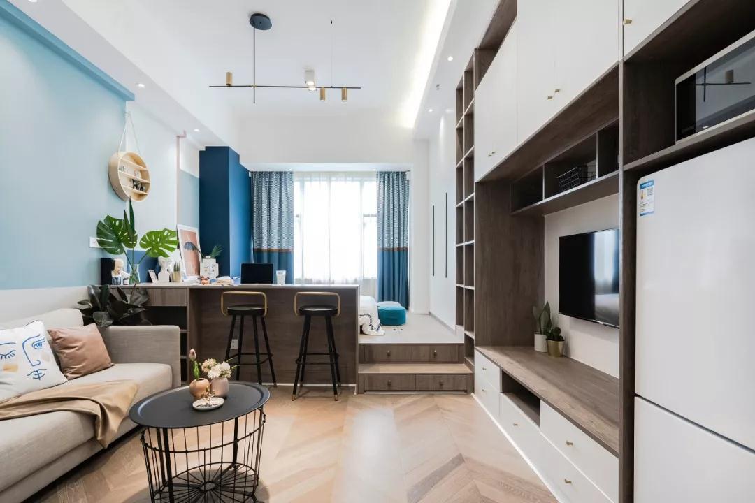 35㎡小户型单身公寓装修效果图